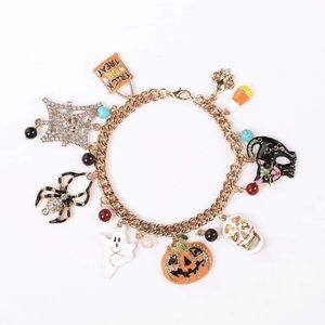 Halloween Drop Charm Bracelet